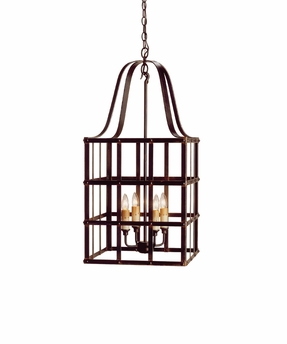 Currey & Co. Boulevard Chandelier In Old Iron - 9316