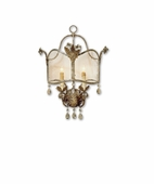 Currey & Co. Zara Wall Sconce Winterthur Collection, In Viejo Gold/Silver - 5357