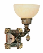 Cuzco 1 Light Wall Sconce shown in Lincoln Copper by Trans Globe Lighting
