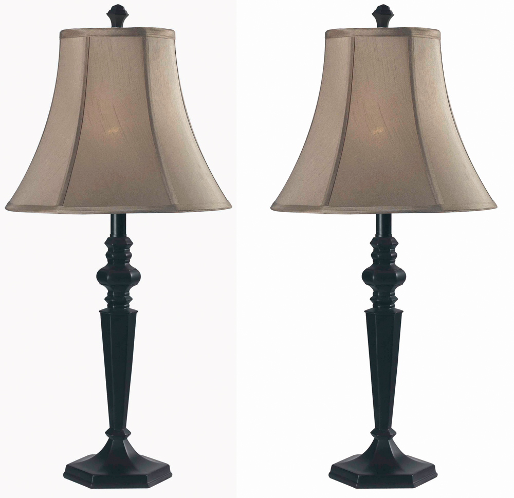 danbury 2 pack table lamp shown in oil rubbed bronze finish by kenroy. Black Bedroom Furniture Sets. Home Design Ideas