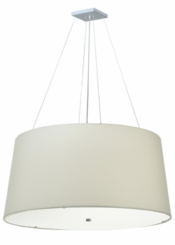 "Meyda Tiffany (124358) 48""W Cilindro Tapered Pendant"