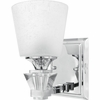 Deluxe- Contemporary Style Deluxe Bath Fixture In Polished Chrome Finish From Quoizel Lighting- DX8601C