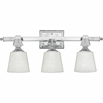 Deluxe- Contemporary Style Deluxe Bath Fixture In Polished Chrome Finish From Quoizel Lighting- DX8603C
