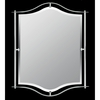 Demitri- Contemporary Style Demitri Mirror In Polished Chrome Finish From Quoizel Lighting- DI43224C