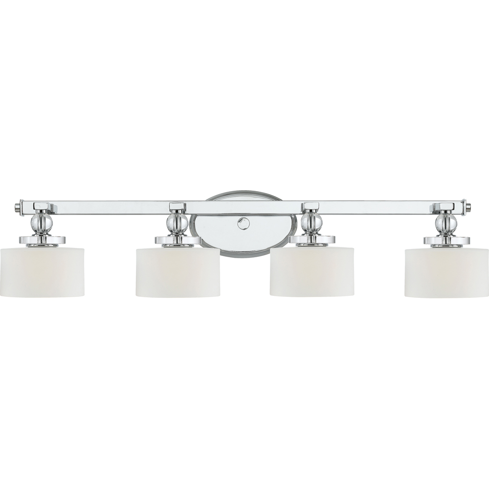 Downtown- Contemporary Style Downtown Bath Fixture In Polished Chrome Finish From Quoizel Lighting- DW8604C