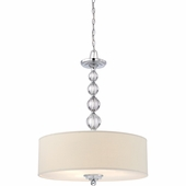 "Quoizel Lighting (DW1824C) Downtown 24"" Pendant in Polished Chrome"