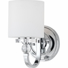 Downtown- Contemporary Style Downtown Wall Fixture In Polished Chrome Finish From Quoizel Lighting- DW8701C