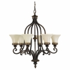 Murray Feiss (F2224) Drawing Room 6 Light Chandelier