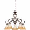 Duchess Chandelier From Quoizel Lighting - DH5105PN