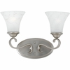 Duchess- European Style Duchess Bath Fixture In Antique Nickel Finish From Quoizel Lighting- DH8602AN