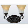 Duchess- European Style Duchess Bath Fixture In Palladian Bronze Finish From Quoizel Lighting- DH8602PN