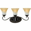 Quoizel Lighting (DH8603PN) Duchess 3-Light Bath Fixture in Palladian Bronze