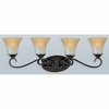 Duchess- European Style Duchess Bath Fixture In Palladian Bronze Finish From Quoizel Lighting- DH8604PN