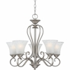 Duchess- European Style Duchess Chandelier In Antique Nickel Finish From Quoizel Lighting- DH5005AN