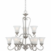 Duchess- European Style Duchess Chandelier In Antique Nickel Finish From Quoizel Lighting- DH5009AN