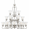 Duchess- European Style Duchess Chandelier In Antique Nickel Finish From Quoizel Lighting- DH5018AN