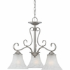 Quoizel Lighting (DH5103AN) Duchess 3-Light Dinette Chandelier in Antique Nickel
