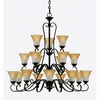Duchess- European Style Duchess Chandelier In Palladian Bronze Finish From Quoizel Lighting- DH5018PN