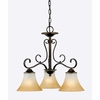 Duchess- European Style Duchess Chandelier In Palladian Bronze Finish From Quoizel Lighting- DH5103PN