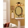 Duchess- European Style Duchess Mirror In Palladian Bronze Finish From Quoizel Lighting- DH43024PN