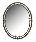"Quoizel Lighting (DH43024PN) Duchess 24"" Mirror in Palladian Bronze"
