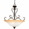 "Quoizel Lighting (DH2820PN) Duchess 20"" Pendant in Palladian Bronze"