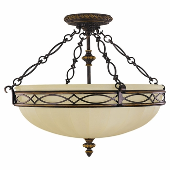 Edwardian Collection Semi-Flush from Murray Feiss Lighting -SF221
