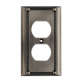 ELK Lighting (2500AP) Decorative Outlet Plate Cover, Single (6-Pack)