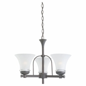 ENERGY STAR Three-Light Newport Chandelier
