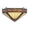Landmark Lighting (08030-AB) Filigree 2 Light Sconce in Aged Bronze Finish