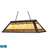 Landmark Lighting (70113-4-LED) Tiffany Game Room Lighting 4 Light Billiard/Island Light in Tiffany Bronze Finish