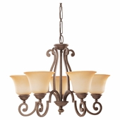 Five-Light Brandywine Chandelier