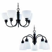 Five-Light Metropolis Chandelier