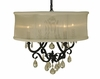 Framburg Lighting (1234) 4-Light Liebestraum Dining Chandelier