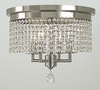 Framburg Lighting (2273) Four Light Semi-Flush Mount from the Princessa Collection