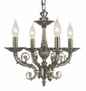 Framburg Lighting (2874) 4-Light Napoleonic Mini Chandelier