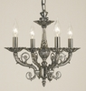 Framburg Lighting (2874) Four Light Chandelier from the Napoleonic Collection