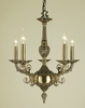 Framburg Lighting (2875) Five Light Chandelier from the Napoleonic Collection