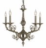 Framburg Lighting (2877) 5-Light Napoleonic Dining Chandelier