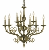 Framburg Lighting (2879) 9-Light Napoleonic Dining Chandelier