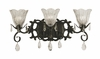 Framburg Lighting (2963) 3-Light Liebestraum Wall Sconce