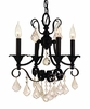 Framburg Lighting (2974) 4-Light Liebestraum Mini Chandelier