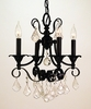 Framburg Lighting (2974) Four Light Chandelier from the Liebstraum Collection
