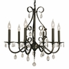 Framburg Lighting (2986) 6-Light Liebestraum Dining Chandelier