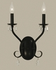 Framburg Lighting (2992) Two Light Sconce from the Liebstraum Collection