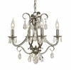 Framburg Lighting (2994) 4-Light Liebestraum Mini Chandelier