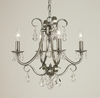 Framburg Lighting (2994) Four Light Chandelier from the Liebstraum Collection