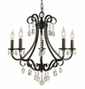 Framburg Lighting (2995) 5-Light Liebestraum Dining Chandelier