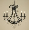 Framburg Lighting (2995) Five Light Chandelier from the Liebstraum Collection