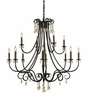 Framburg Lighting (2997) 12-Light Liebestraum Foyer Chandelier